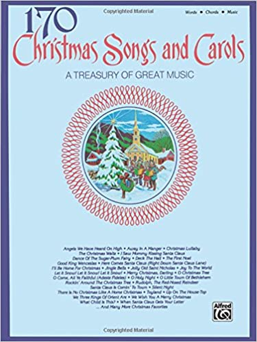 170 Christmas Songs And Carols Pianovocalchords Alfred Music