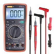 Thsind Digital Multimeter Electronic Measuring Instrument AC Voltage Detector Portable Amp/Ohm/Volt Test Meter Multi Tester/Diode and ContinuityTest