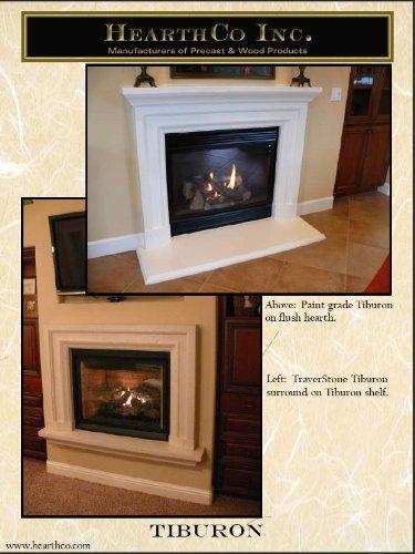 Tiburon Precast Fireplace Mantel And Surround Stone