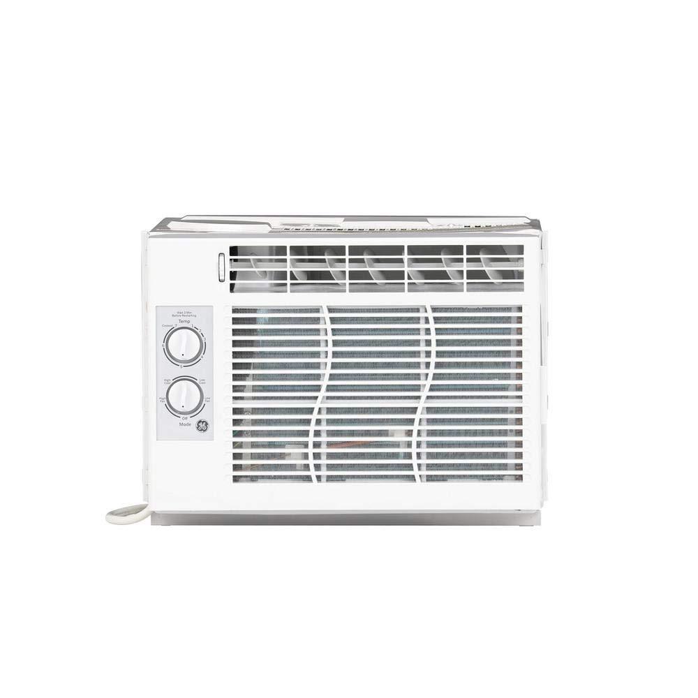 GE 5,000 BTU 115-Volt Room Window Air Conditioner in White by GE