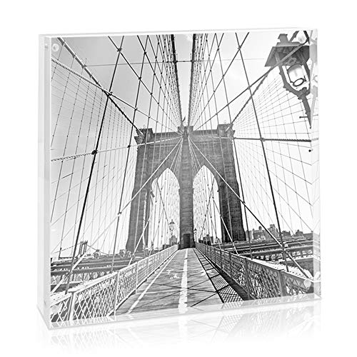 Isaac Jacobs Super Thick Acrylic Magnetic Block Frame (8x8)