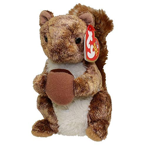 TY NUTTY THE SQUIRREL BEANIE BABY ~ BRAND NEW WITH MINT HANG TAGS AND TAG PROTECTED by Ty ()