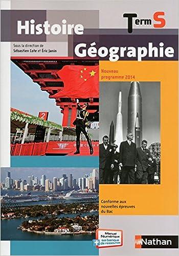 Histoire-Géographie Term S - Cote/Janin epub, pdf