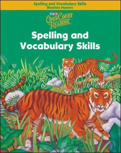 Open Court Reading - Spelling and Vocabulary Skills Blackline Masters - Grade 2