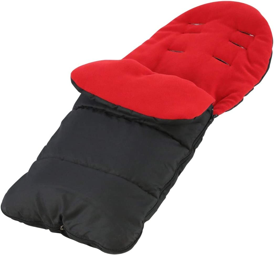 Fire Red FYLO Premium Footmuff//Cosy Toes Compatible with iCandy Strawberry