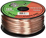 Pyramid RSW16100 16 Gauge 100 Feet Spool of Speaker Zip Wire