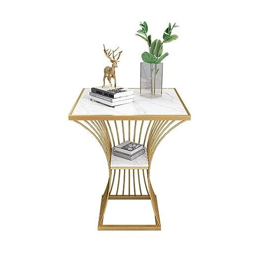 FxsD Mesas Mesa de café, Hierro Forjado, Material de luz mármol ...