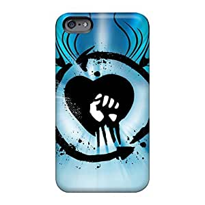 AlissaDubois Iphone 6 Great Hard Cell-phone Cases Customized Colorful Rise Against Pattern [tds3987qkxe]