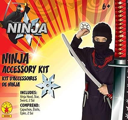Rubies 38299NS Juego Oficial de Ninja Kit de Arma de Juguete ...