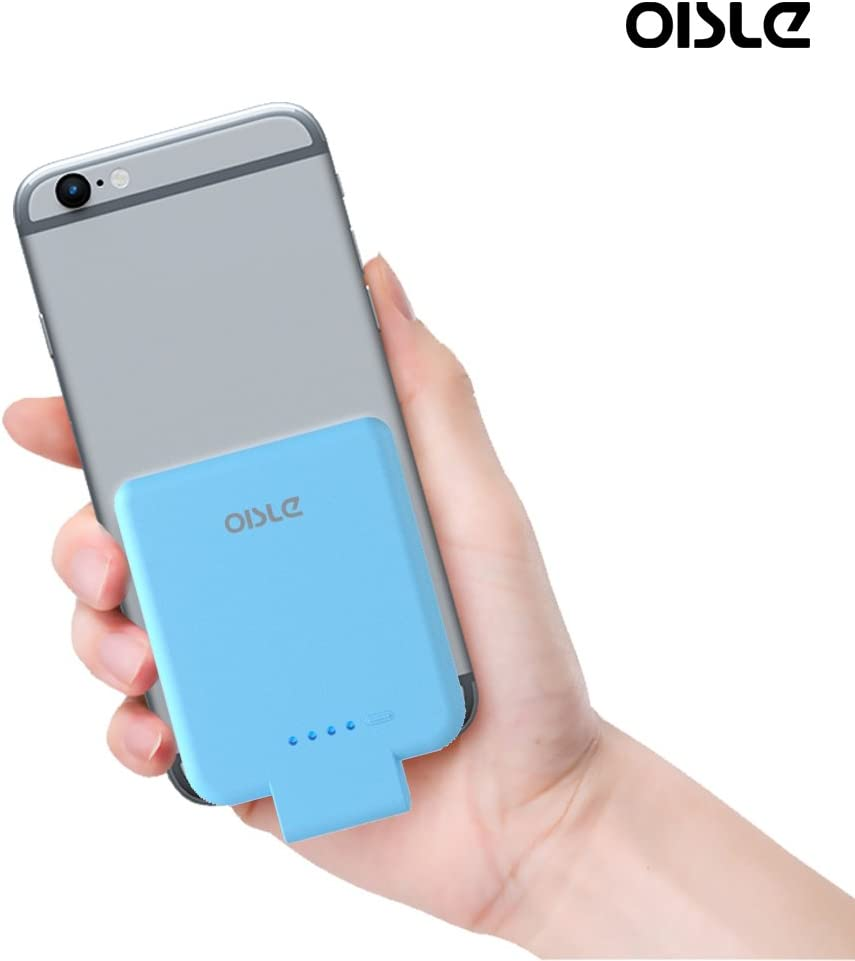 oisle Portable Charger Mini Power Bank PowerCore 2200mAh Wireless External Backup Battery Pack High Speed Ultra Thin Charging for iPhone