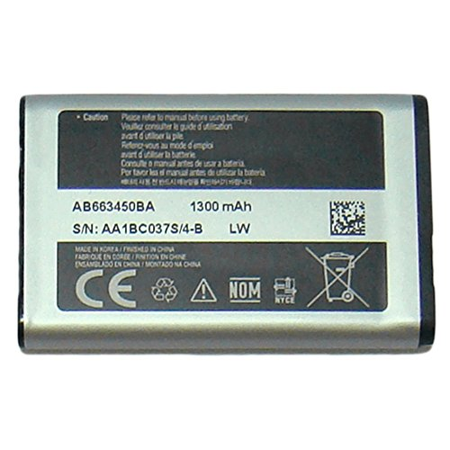 - OEM SAMSUNG AB663450BA BATTERY FOR SAMSUNG A847 RUGBY 2 II (Certified Refurbished)