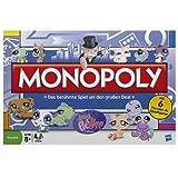 Hasbro 03601100 - Juego de mesa Monopoly (en alemán), diseño de Littlest Pet Shop