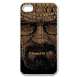 Cool Painting Breaking Bad Unique Fashion Printing Phone Case for Iphone 4,4S,personalized cover case case320393