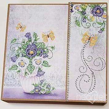 Heartfelt Creations HCIA2477 20 x 20 cm Album Fotografico in Carta Kraft