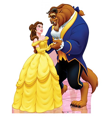 Belle & Beast - Disney's Beauty & the Beast - Advanced Graphics Life Size Cardboard Standup