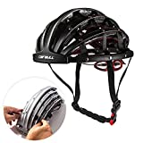 Lixada Bike Helmet Foldable Cycling Helmet Adult Road Bike Safety Helmet Lightweight Sports Protective Equipment