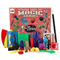3 Bees & Me Deluxe Magic Kit Set for Kids with Toy Wand and 75 Magic Tricks for Beginners - Boy or Girl Gift - Best Age 6 7 8 9 Year Old