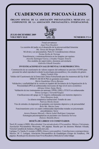 CUADERNOS DE PSICOANÁLISIS, JULIO-DICIEMBRE 2009 vol XLII, nums. 3 y 4 (Spanish Edition)