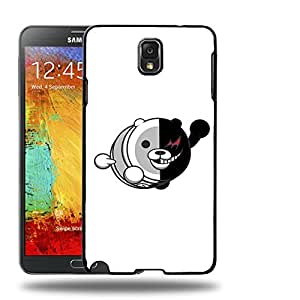 Case88 Designs Danganronpa Taiko Monokuma Protective Snap-on Hard Back Case Cover for Samsung Galaxy Note 3