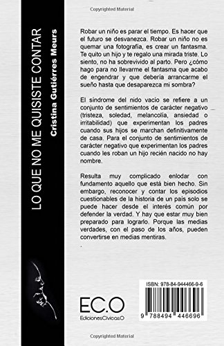 Amazon.com: Lo que no me quisiste contar (9788494446696): Cristina ...