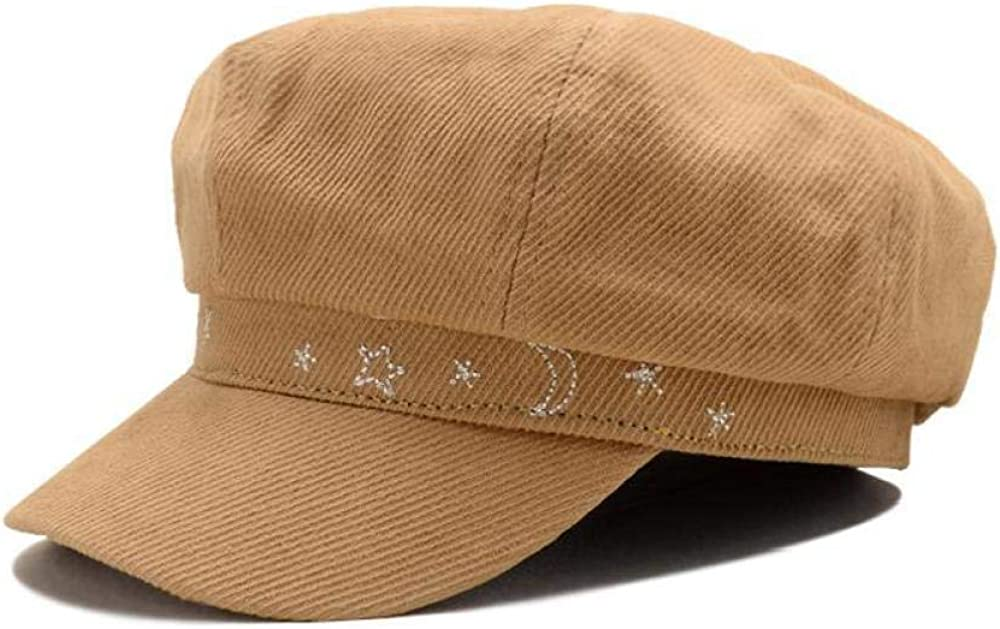 Hat Newsboy Cap Cotton...
