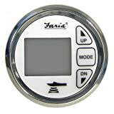 Faria Instruments 13852 CHES SS WHITE STYLE DEPTH SOUN DIGITAL DEPTH SOUNDER