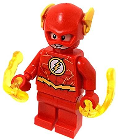 Amazon.com: LEGO DC: Justice League   Flash Minifigure 2018: Toys U0026 Games