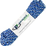 PARACORD PLANET 100' Feet of Type III 550 Paracord - Blue Snake