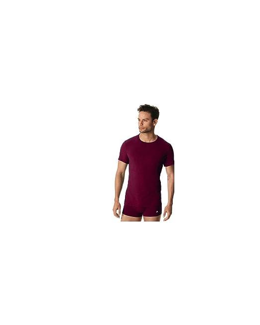 Fila - Camiseta interior - para hombre burdeos Small