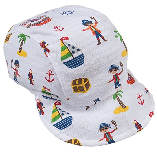 Kissy Kissy Baby Boys Buccaneers Reversible Cap-Small ()