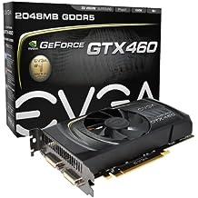 EVGA GeForce GTX 460 2048 MB GDDR5 PCI Express 2.0 2DVI-Mini-HDMI SLI Ready Graphics Card, 02G-P3-1386-KR