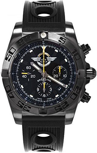 Breitling Chronomat 44 Blacksteel MB01109L/BD48-200S