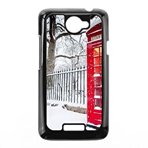 British Red Phone Booth HTC One X Cell Phone Case Black
