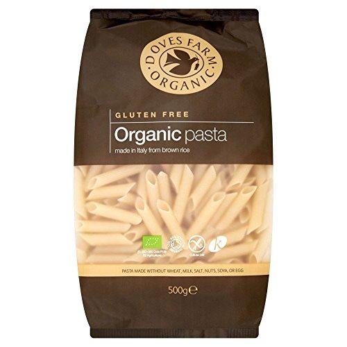 Doves Farm Organic Gluten Free Brown Rice Penne Pasta (500g)