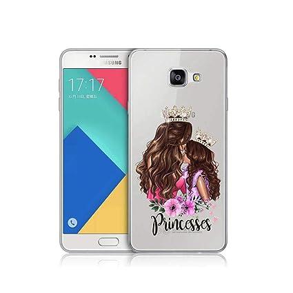 Amazon.com: Funda de silicona para Samsung Galaxy con diseño ...