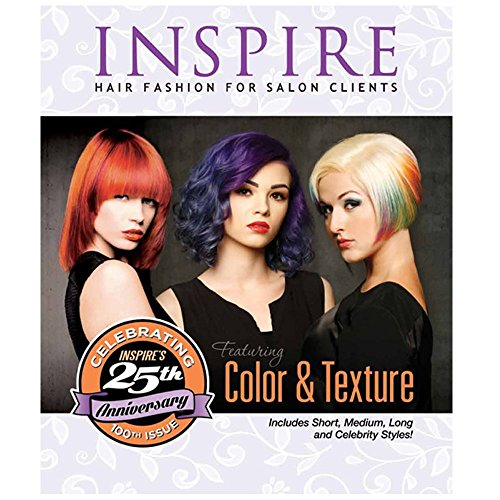 INSPIRE Hair Fashion For Salon Clients Volume 100 Color & Texture BK-V100 Texture Fashion