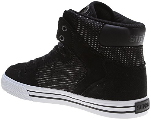 Supra Vaider LC Sneaker Schwarz / Weiß / Nylongewebe