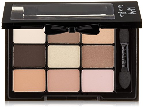 NYX Professional Makeup Love In Paris Eyeshadow Palette, Madeleines and Macaroons, 0.028 Ounce