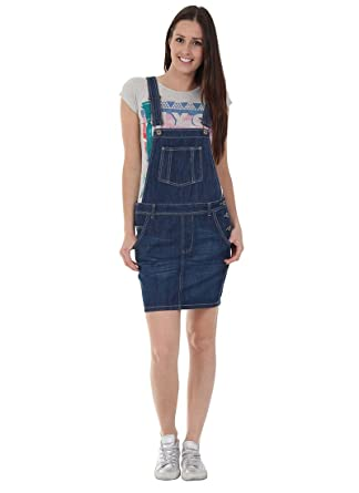 USKEES Claire Peto Falda - Denim Color de añil Loose fit Vestido ...