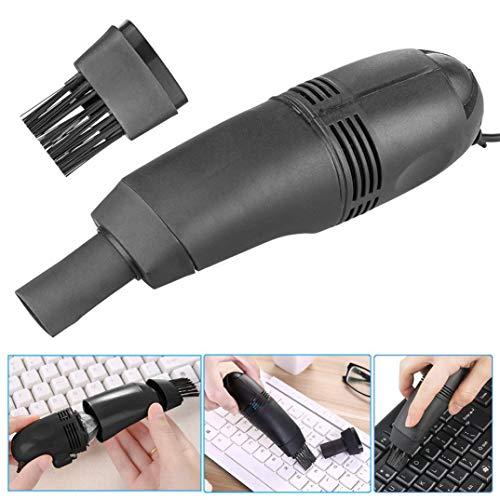 Mini Computer Vacuum USB Keyboard Cleaner PC Laptop Brush Du
