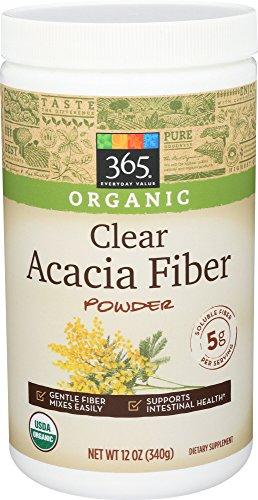 Acacia Fiber Supplements (365 Everyday Value, Organic Acacia Fiber - Clear, 12 oz)