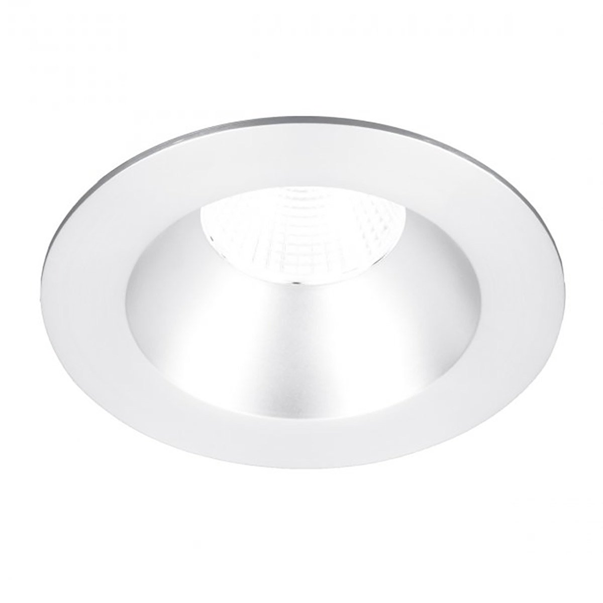 WAC Lighting R3BRD-F927-WT Oculux 3.5'' LED Round Open Reflector Trim Engine in White Finish; Flood Beam, 90+CRI and 2700K