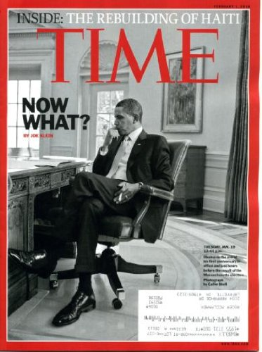 Time February 1 2010 President Barack Obama on Cover, The Rebuilding of Haiti, Saarinen/Architect, Best European Fiction, Extraordinary Measures & The Blind Side, Jersey Shore