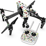 Skin For DJI Inspire 1 Quadcopter Drone – Bright Lures | MightySkins Protective, Durable, and Unique Vinyl Decal wrap cover | Easy To Apply, Remove, and Change Styles | Made in the USA