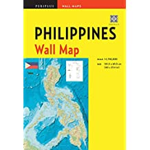 Philippines Wall Map Second Edition: Scale: 1:1,750,000; Unfolds to 40 x 27.5 inches (101.5 x 70 cm)