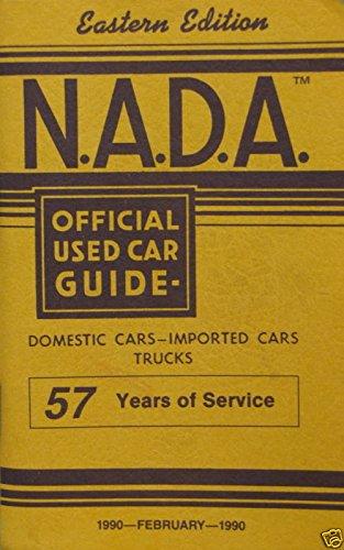 Eastern Used Cars (NADA Used Car Guide - Eastern Edition - February, 1990)