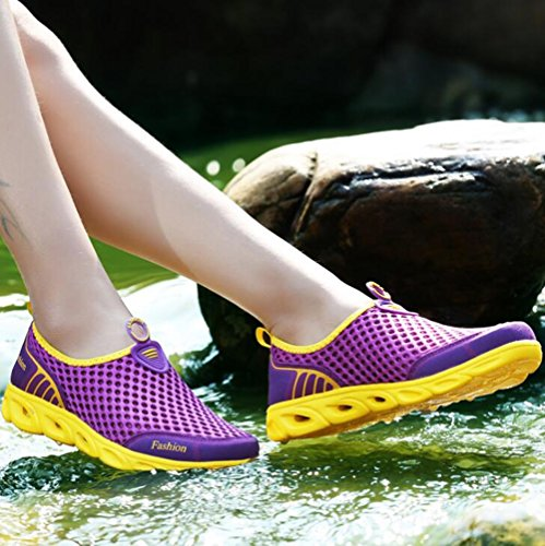 Zapatos Transpirables de de Sports Casuales de Couple Mesh Mesh Libre F Zapatos Zapatillas Shoes Senderismo Deporte Color tamaño 44 al Casuales New Mujeres Aire Zapatos Las Zapatos qwZ6CwB