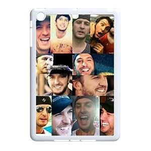 Unique Design Durable Hard Cover Case Cover for Ipad Mini Phone Case - Luke Bryan HX-MI-041052