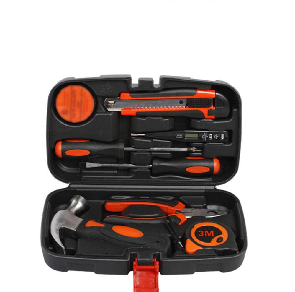 9piecesuit Toolbox, Home Toolbox, Maintenance Multi-Purpose Universal Toolbox,100piecesuit