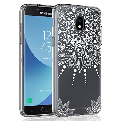 Case for Samsung Galaxy J3 2018/J3 V 2018/J3 Achieve/Express Prime 3/Amp Prime 3/J3 Eclipse 2/J3 Prime 2/J3 Star/J3 Orbit/Sol 3/J3 Aura/J3 Emerge 2018, SYONER Ultra Slim Clear Phone Case [Henna]